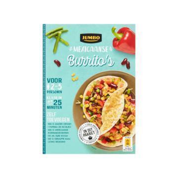 Jumbo Mexicaanse Burrito's