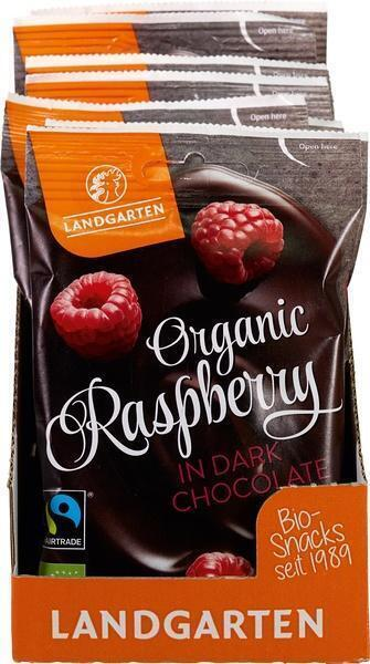 Frambozen in chocolade (50g)