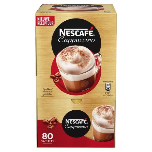 Nescafé Cappuccino 80 x 12,5 g (1kg)