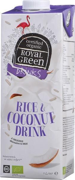 Rijst-kokosnoot drink (pak, 1L)