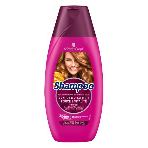 Schwarzkopf Shampoo Kracht & Vitaliteit 250 ml (250ml)