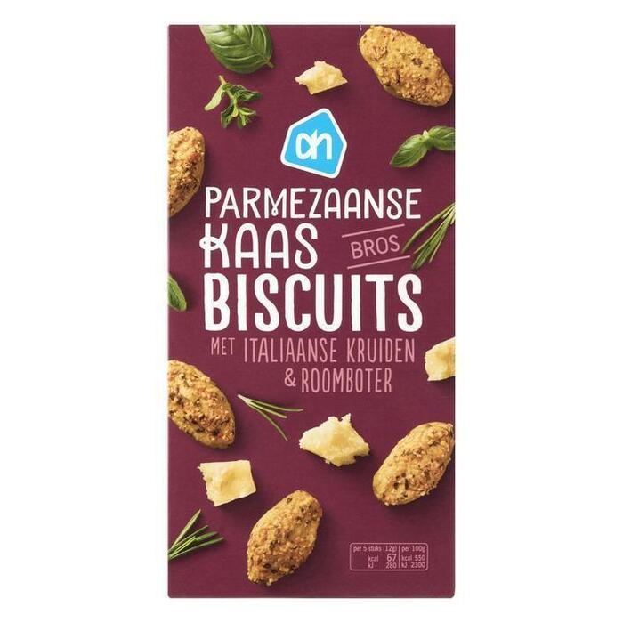 AH Parmezaanse kaas biscuits (75g)