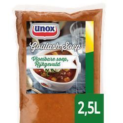 UNOX SOUP FACTORY GOULASH RIJKG.PZ2,5L (2.5g)