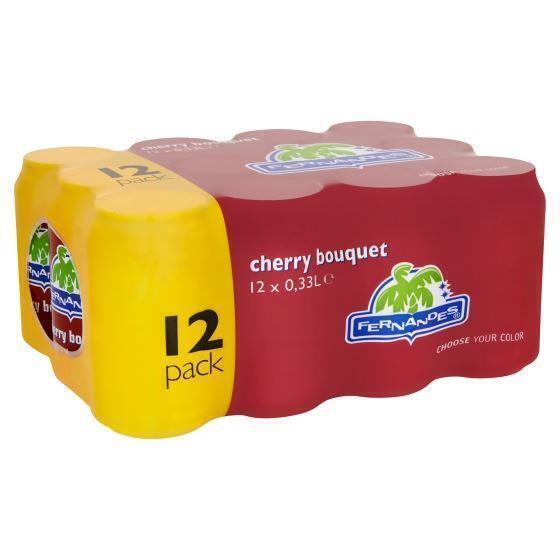 Fernandes Cherry bouqet (Stuk, 12 × 33cl)