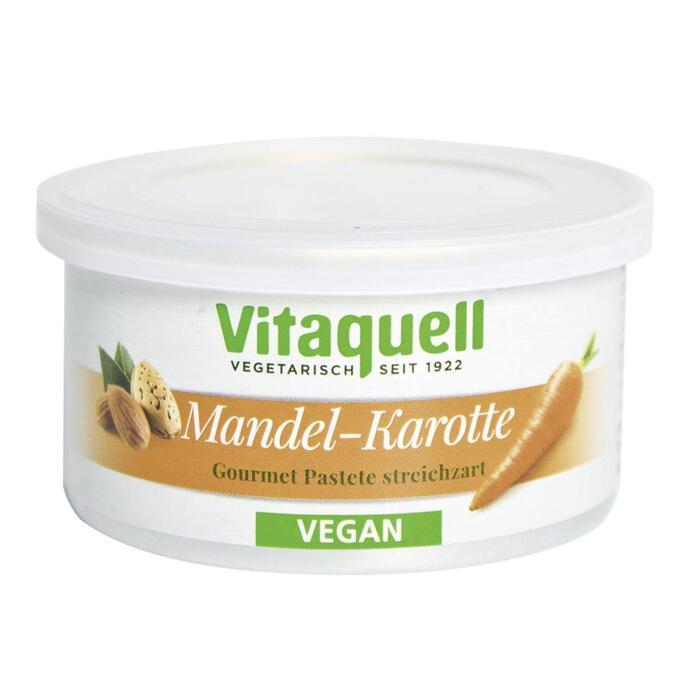 Vitaquell Vegan Groentespread Wortel-Amandel 125 g (125g)