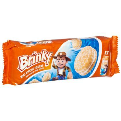 BRINKY MINI BISCUITS FOURRES VANILLE (188g)