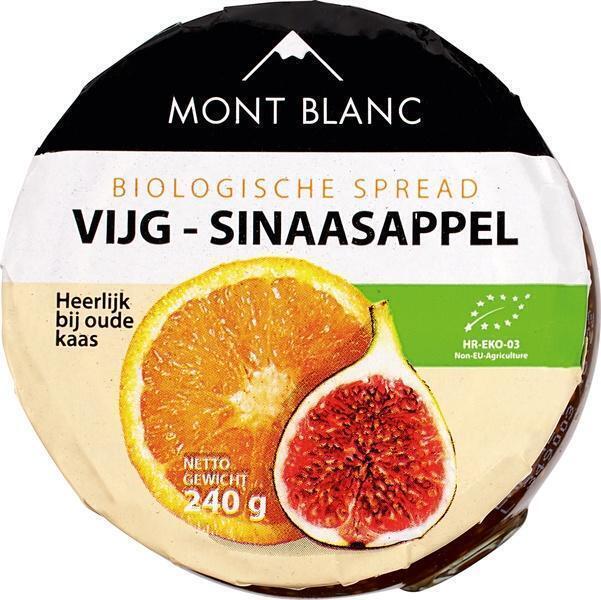 Vruchtenspread vijg-sinaasappel (240g)