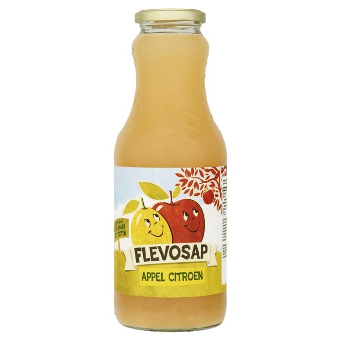 Flevosap Appel-Citroen, fles 1L (1L)