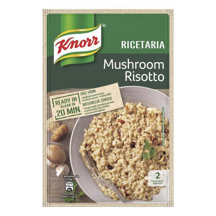 Knorr Ricetteria risotto mushroom (175g)