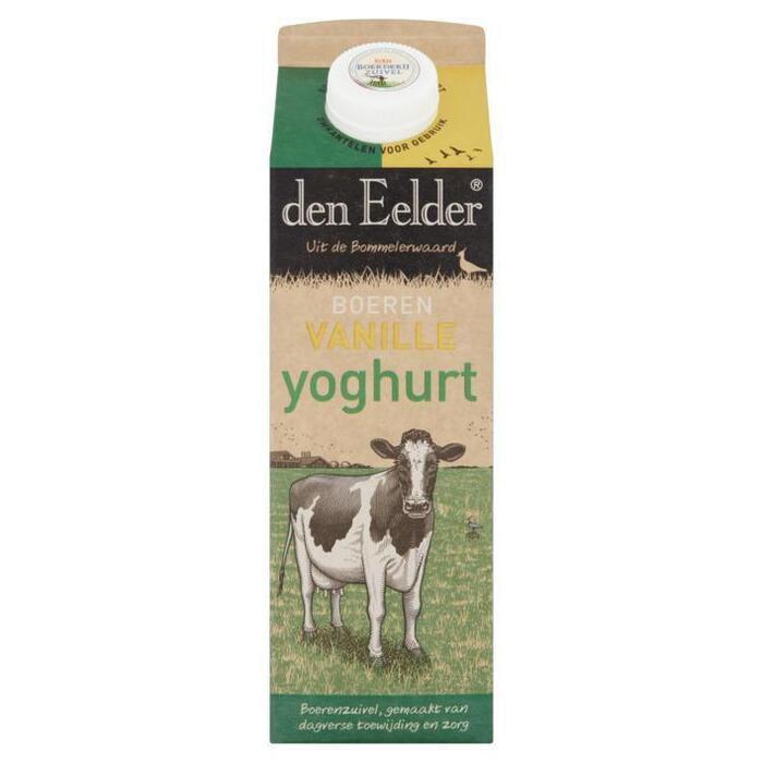 Echte Boeren Vanille yoghurt (pak, 1L)