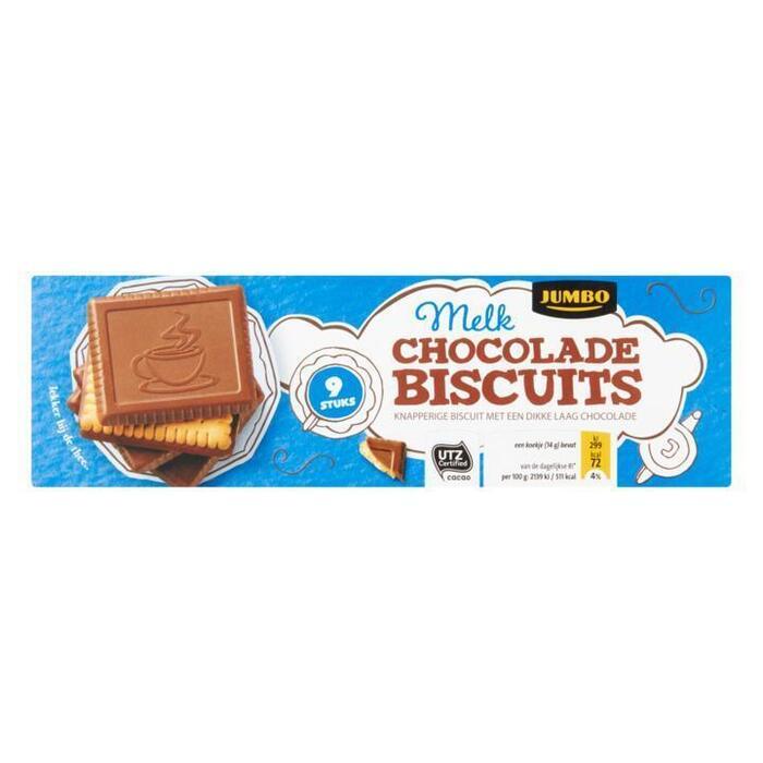 Van Delft Chocolade Biscuits 165g (125g)
