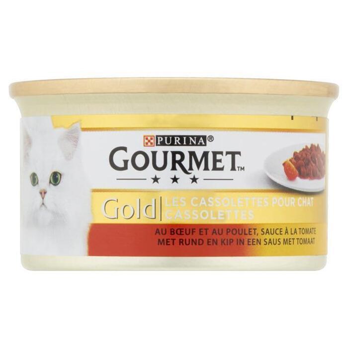 Gourmet Gold cassolettes rund (Stuk, 85g)