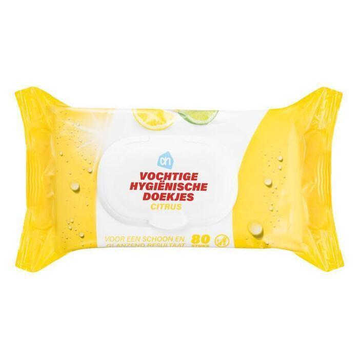 AH Hygiënische doekjes citrus voordeel