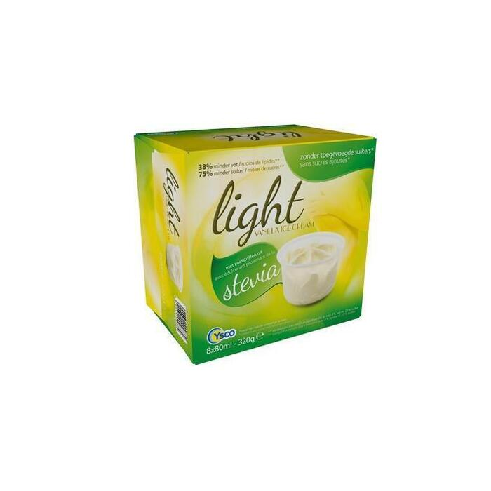 Vanilla Ice Cream Light (8 × 80ml)