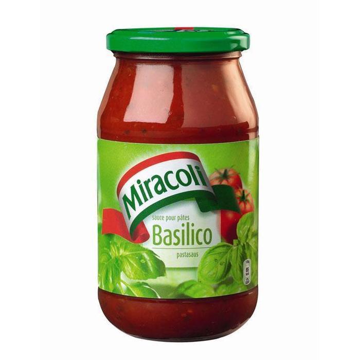 Pastasaus basilico (530g)