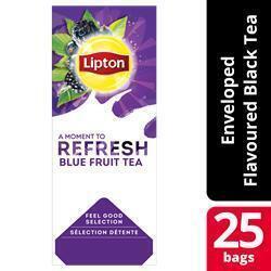 Lipton Thee Professioneel Blue Fruits (25 × 1.6g)