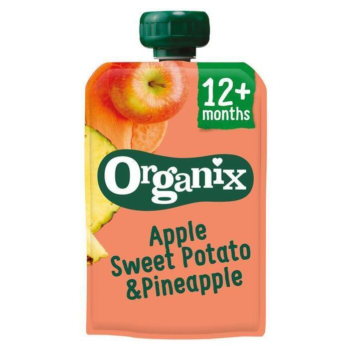 Organix Just apple, sweet patato & pineapple (100g)