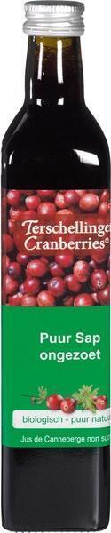 Terschillinger, Cranberrysap (glas, 0.5L)