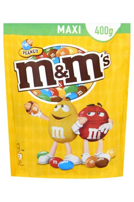 M&M Peanut Maxi (zak, 440g)