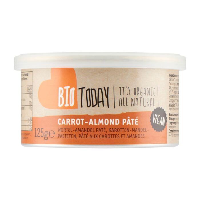 Bio Today Spread amandel wortel (125g)