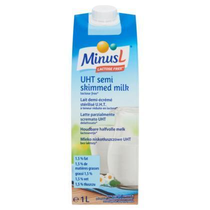 UHT Milk 1,5% Fat (karton, 1L)
