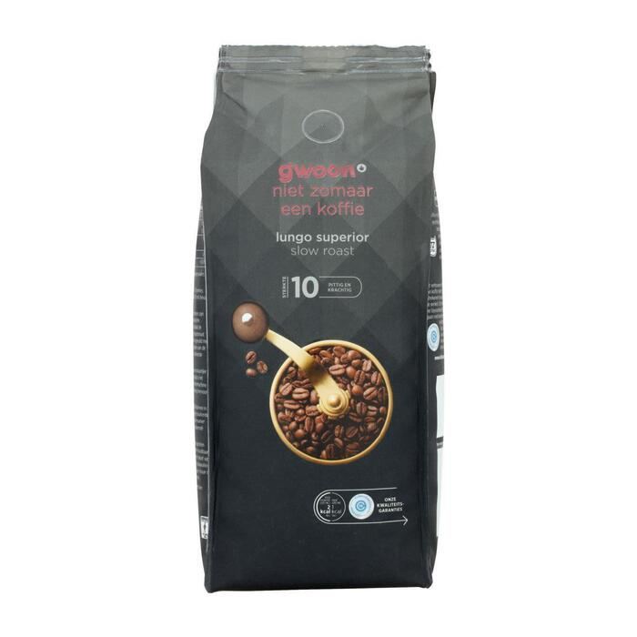 g'woon Lungo supérieur (500g)