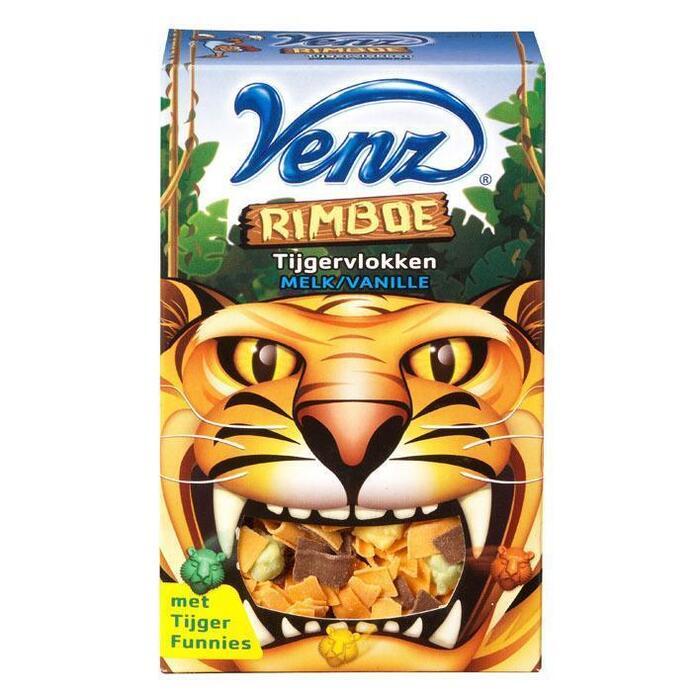 Rimboe tijgervlokken melk (Stuk, 200g)