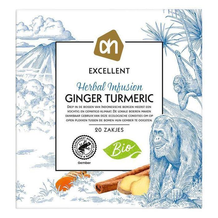 AH Excellent Herb infused ginger turmeric