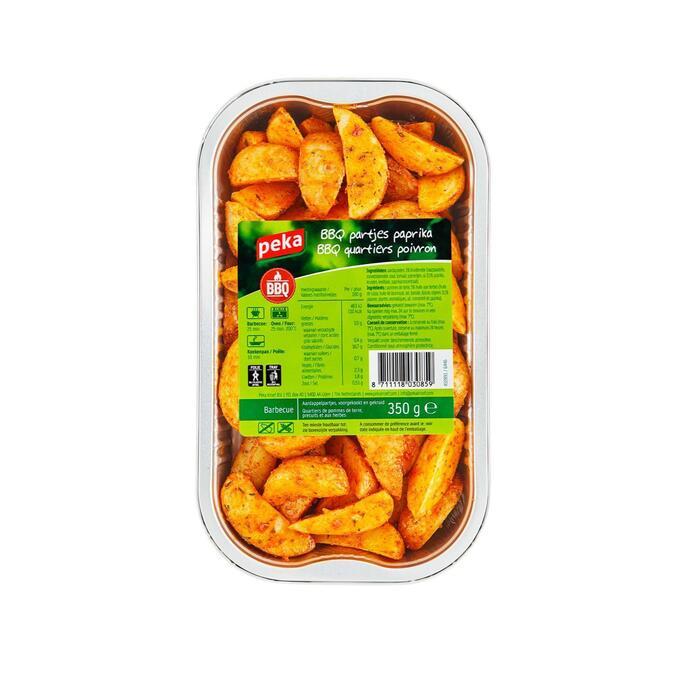 BBQ partjes paprika (350g)