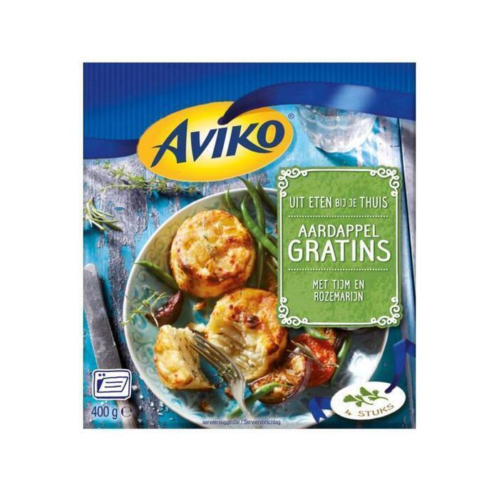 Aardappel Gratins tijm en rozemarijn (doos, 400g)