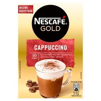 Nescafé Cappuchino (10 × 12.5g)