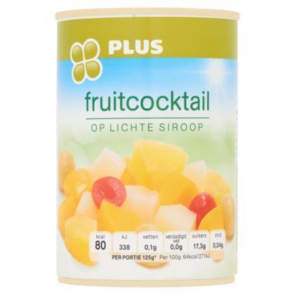 Fruitcocktail op licht siroop (blik, 410g)