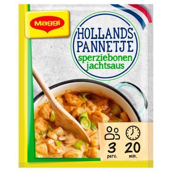 Maggi Hollands pannetje champignonsaus met prei & kip zakje 40 gram (54g)