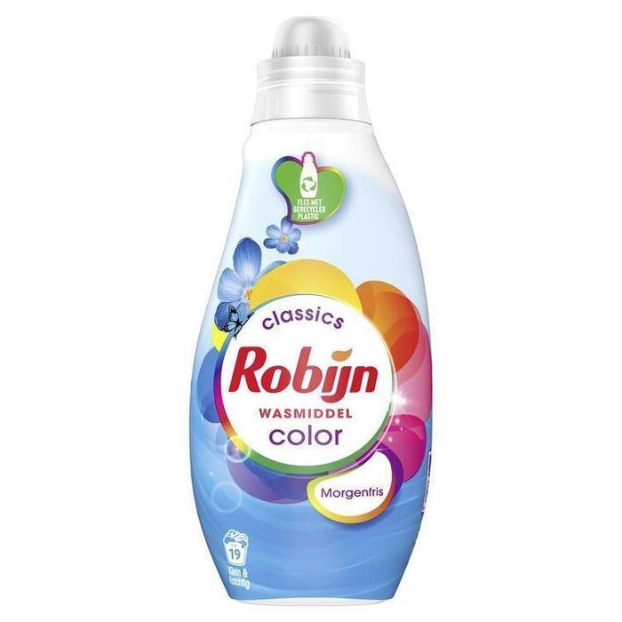 Robijn Klein & krachtig wasmiddel morgenfris (0.66L)