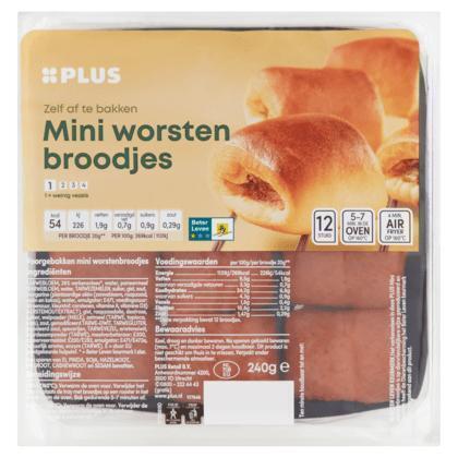 Mini worstenbroodjes beter leven