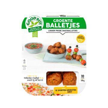 GoodBite Vegetarische Groenteballetjes (10 × 17g)