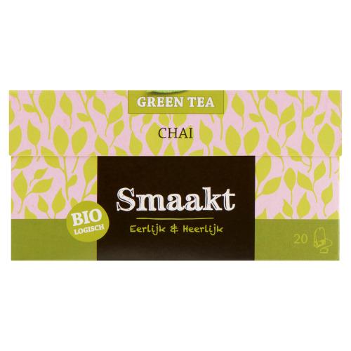 Groene thee chai (Stuk, 20 × 1.5g)