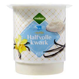 Melkan Vanille Halfvolle Kwark 450 g (450g)
