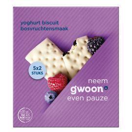 g'woon Yoghurt fruitbiscuit bosvruchten (182g)