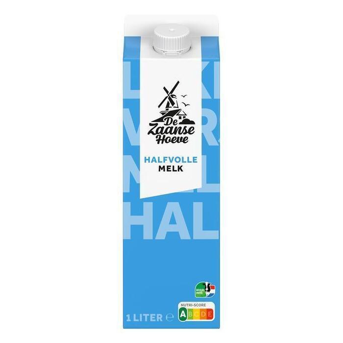 De Zaanse Hoeve Halfvolle melk (1L)