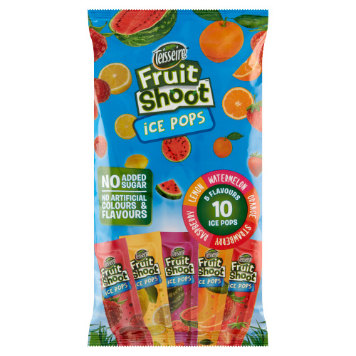 Teisseire Fruit Shoot Ice Pops 10 Stuks 500 ml