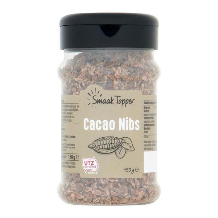 Smaak Topper Cacao Nibs 150 g (150g)
