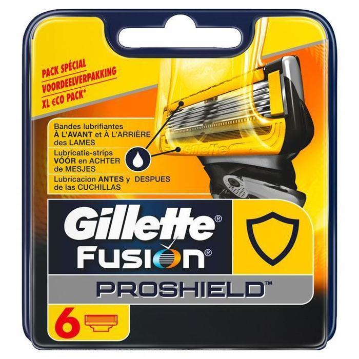 Gillette Fusion proshield navulmesjes