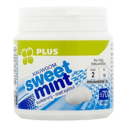 Kauwgom sweetmint (70 × 105g)