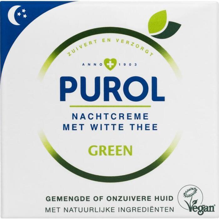 Purol Green nachtcrème (50ml)