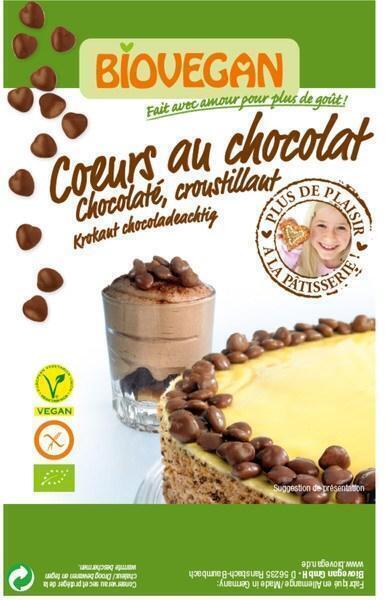 Chocoladehartjes (35g)