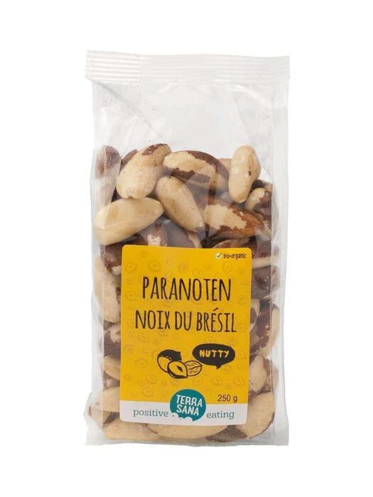 Paranoten ongeroosterd zonder zout TerraSana 250g (250g)