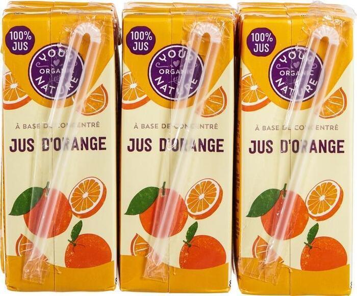 Sinaasappelsap 6 x 200ml (1.2L)