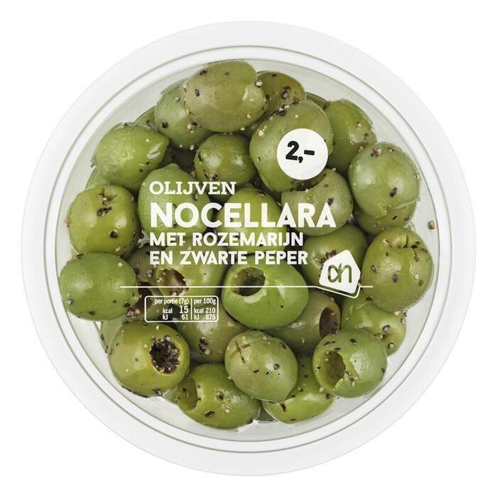 AH Nocellara olijven rozemarijn-peper (30 × 150g)