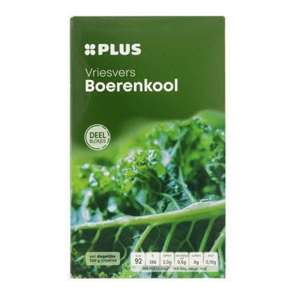 Boerenkool, Vriesvers (doos, 450g)